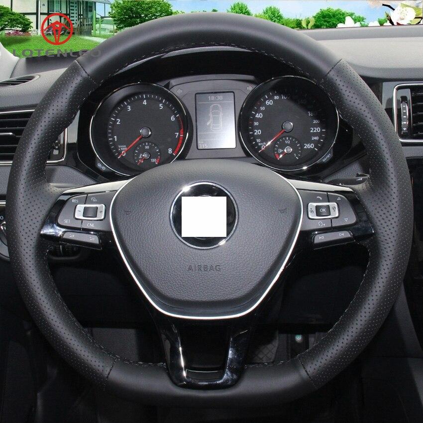Buy Volkswagen: Aliexpress.com : Buy LQTENLEO Black Artificial Leather Car