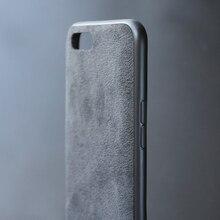 Оригинальный итальянский замшевый как тканевый кожаный чехол для Oneplus 5 6 5 T 6 T Чехлы слой премиум-защиты чехол для телефона роскошный
