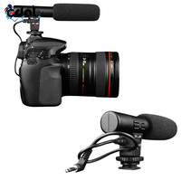 New Professional 3 5mm MIC 01 Studio Digital Video Stereo Recording Microphones A58