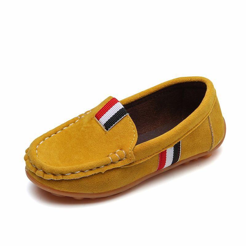 Kids Shoes Baby Boys Leather Loafers Children Footwear Boy Child School Shoes Barefoot Shoe For Teenagers Boys Fashion Kids Flat