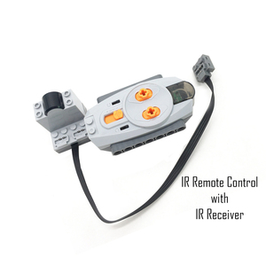 Image 4 - Technical Power Functions Servo Motor Polarity Switch IR Speed Remote Control Receiver Battery Box technic creator