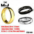 8mm 3 Colors Promotion The Lord of the Rings sale 316L stainless steel ring Fast shipping STRZ-001