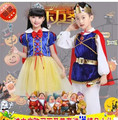Children Halloween Christmas clothes Masquerade Dresses Cinderella Snow Princess Dress Outfit Prince Clothing