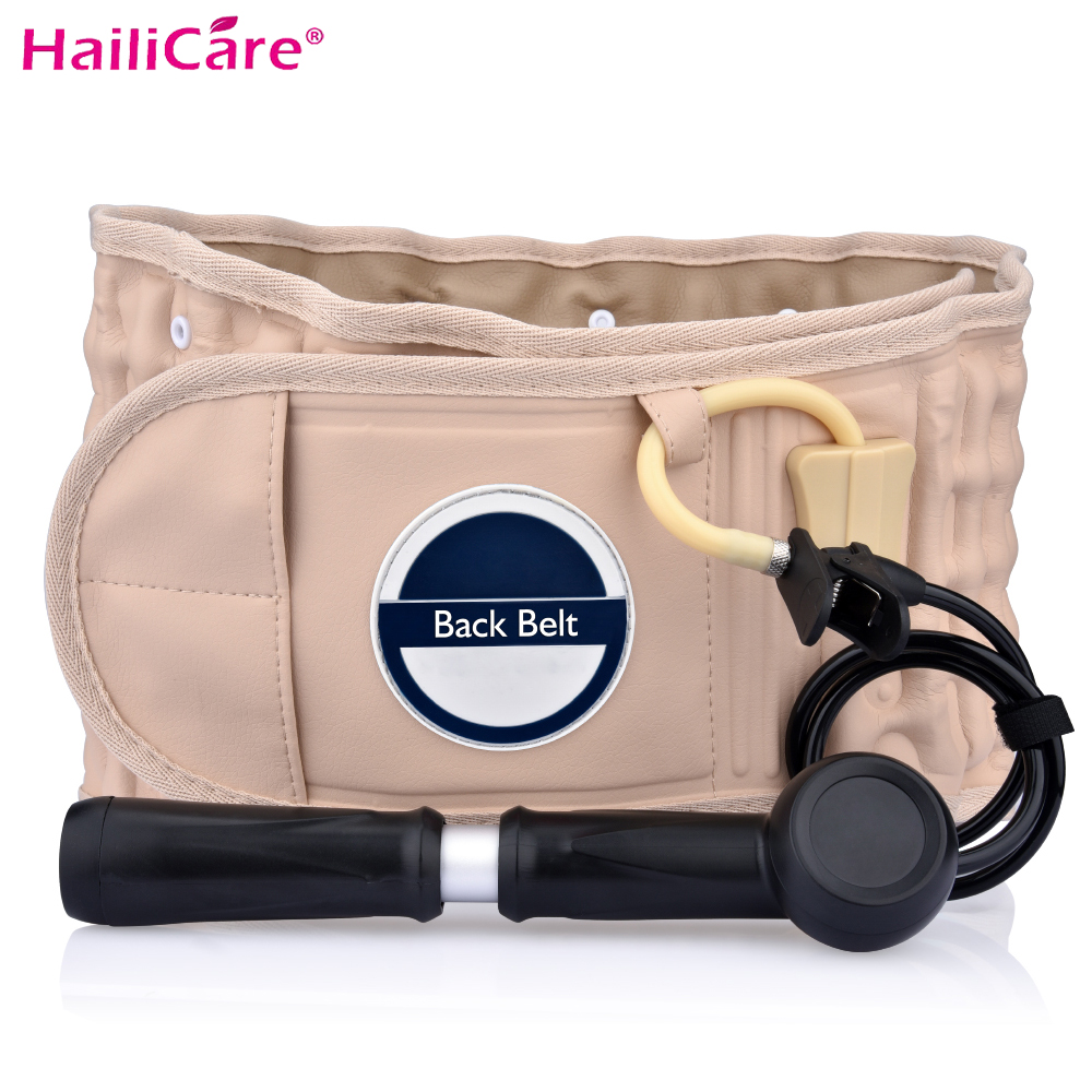 Health Care Brace Lumbar Support Decompression Therapy Belt Physio Waist Brace Spinal Pain Relief Back Massage