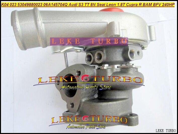 K04 023 5304 988 0023 53049880023 06A145704Q 06A145704QX 06A145704QV Turbo For AUDI S3 TT 8N Seat Leon 1.8T Cupra R BAM BFV 1.8L  цена и фото