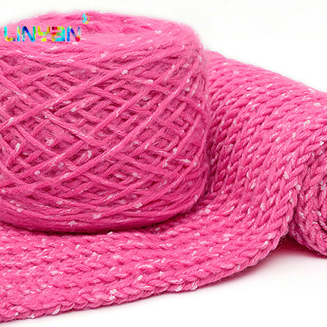 200g 2 Stuks Sjaal Draad Dikke Wol Melk Katoen Fiber Knitwear Hand