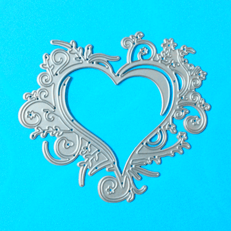 YLCD151 Love Metal Cutting Dies For Scrapbooking Stencils DIY Photo Album Cards Decoration Embossing Folder Paper Craft Die Cuts in Cutting Dies from Home Garden