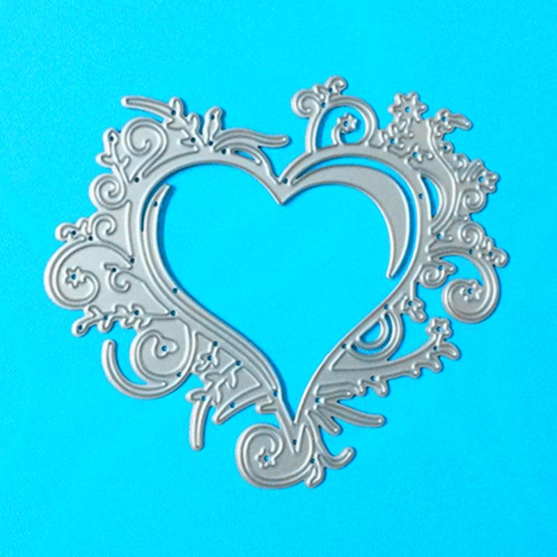 YLCD151 Love Metal Dies For Scrapbooking Stencils DIY Photo Album Cards Decoration Embossing Folder Paper Craft Die Cuts Mold