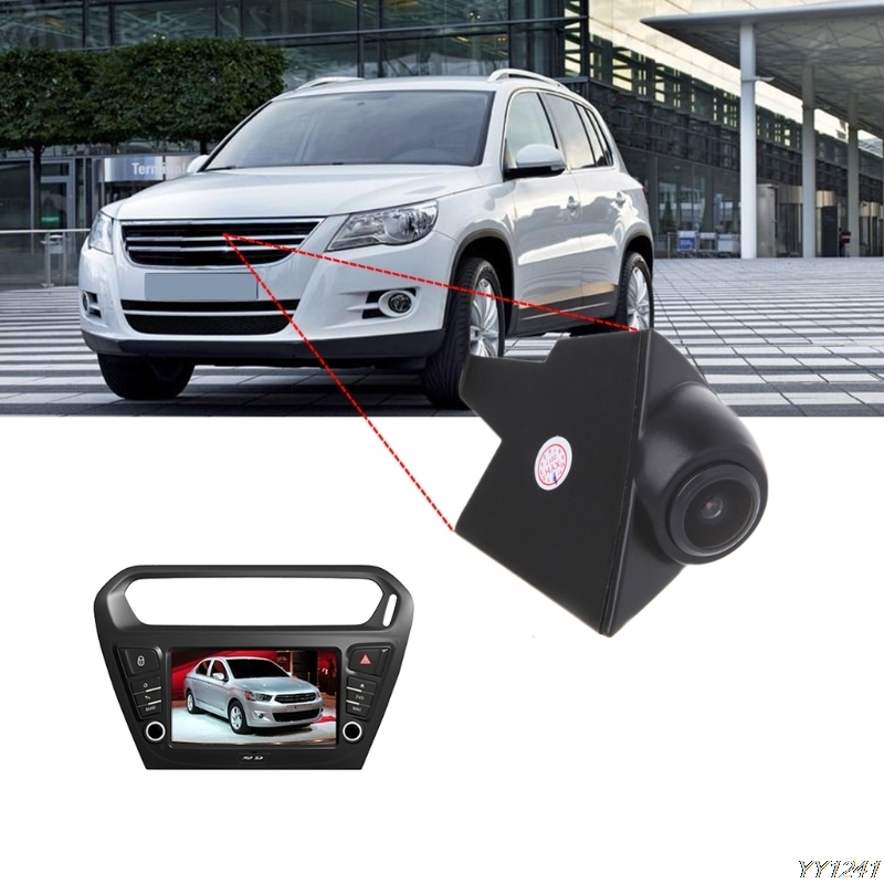 Waterproof  CCD Car DVR Front View Camera For VW Volkswagen GOLF Bora Jetta Touareg Passat Polo NTSC Vehicle Camera 110 Degree-Y