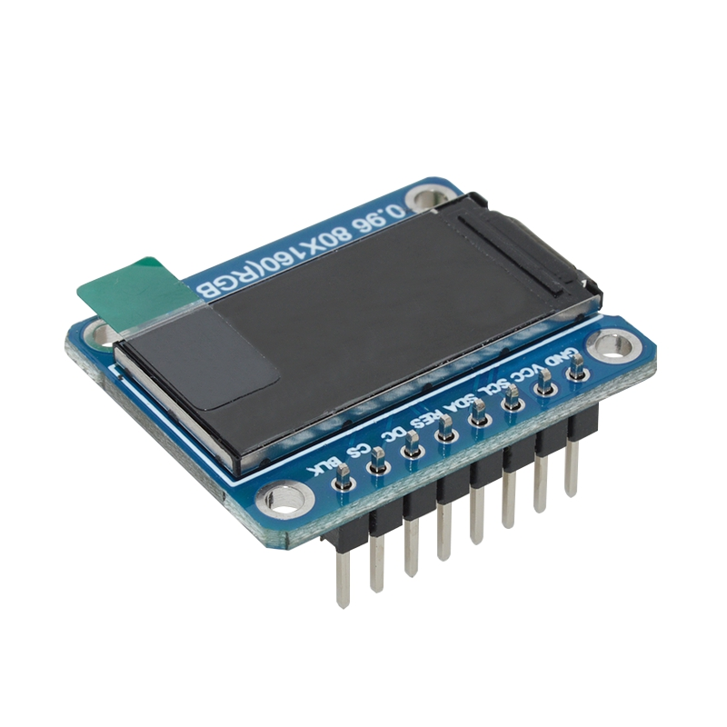 Ips 0 96 Inch 8 Pin Spi Hd 65K Full Color Tft Module St7735 Drive Ic 80 x  160 Lcd Display 3 3V Spi Interface For Arduino Diy
