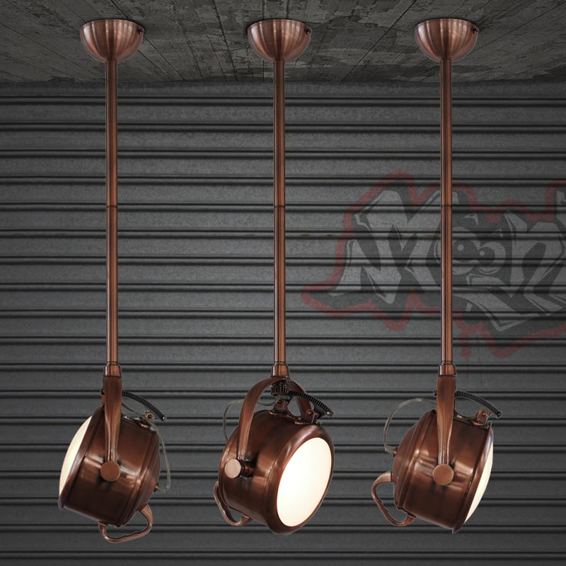 IWHD Iron Lamparas Vintage Pendant Lights Loft Industrial Lighting Hanging Lamp LED Light Fixtures Glass Suspension Luminaire american retro pendant lights luminaire lamp iron industrial vintage led pendant lighting fixtures bar loft restaurant e27 black