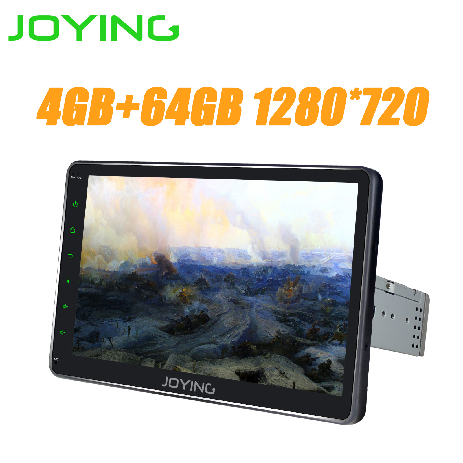 4G+64G ROM 10.1 Octa Core Android 8.1 Car Multimedia Player with built in 4G Modem 1280*720 Car Radio GPS Carplay DVR Fast Boot