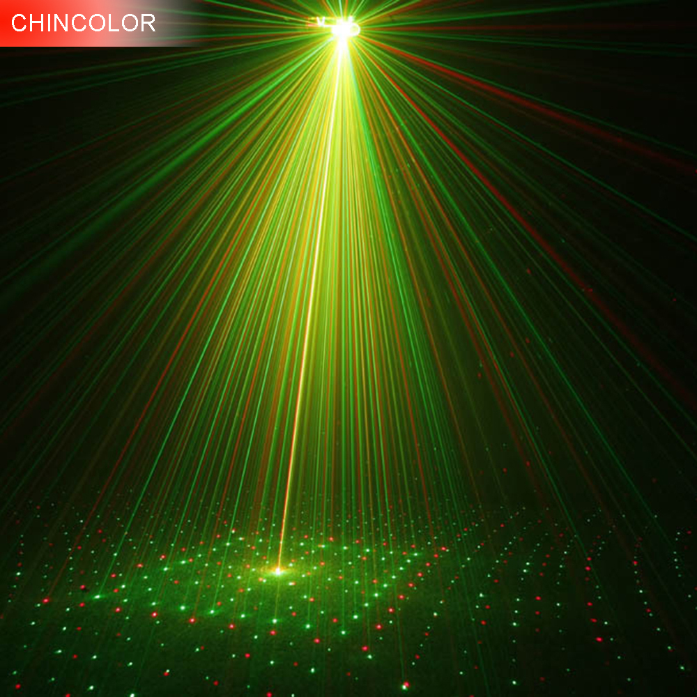 Led Mini Red&Green laser light Stage light   laser projector AC110V 220V For party entertainment disco TKV Bar lighting CA rg mini 3 lens 24 patterns led laser projector stage lighting effect 3w blue for dj disco party club laser