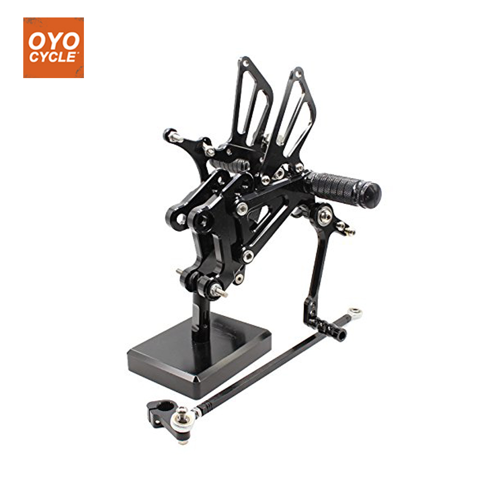 CNC Adjustable Rearsets Foot Rest Foot Pegs Foot Rests For Yamaha YZF R125 2008 2009 2010 2011 2012 2013 cnc adjustable rearsets foot rest foot pegs foot rests for honda cbr600rr abs 2009 2010 2011 2012 2013 2014 2015 cbr 600rr