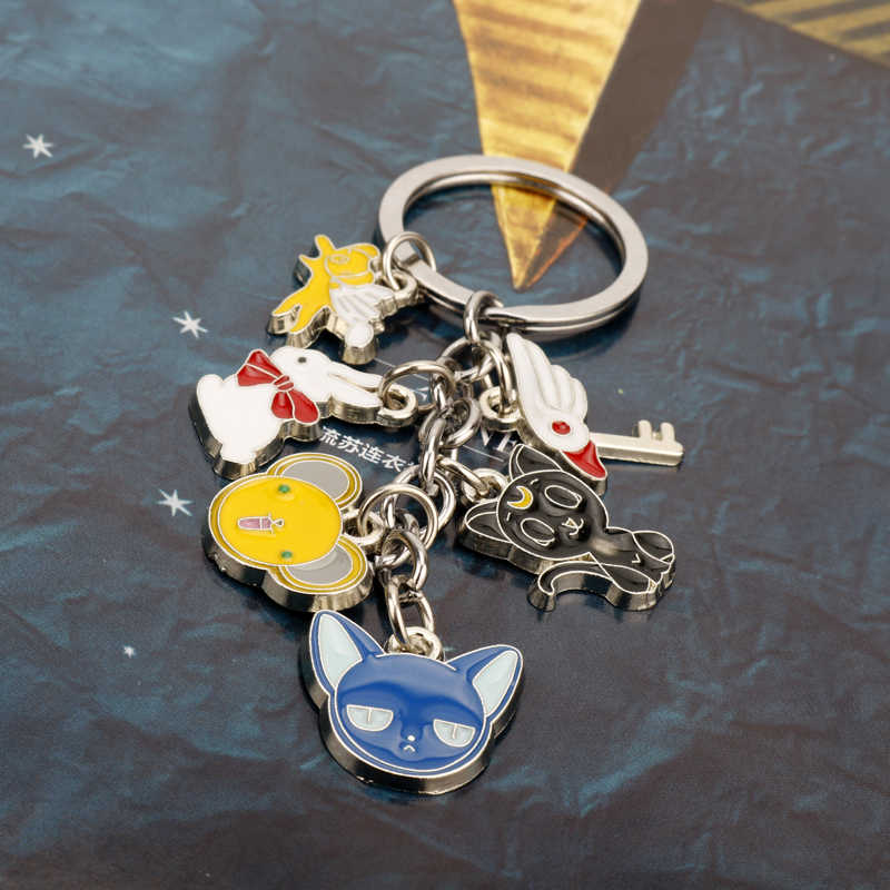 LLavero de la tarjeta Keychian de la luna del Anime japonés de dongsheng Keychian Sakura Cardcaptor-50