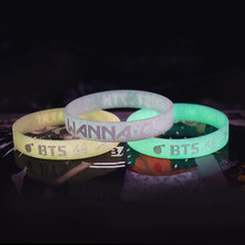BTS Luminous Silicone Wristband [12 Styles]