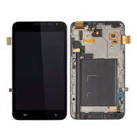 1PCS For Samsung Galaxy Note I9220 N7000 LCD Screen And Touch Screen Digitizer Frame Home Button