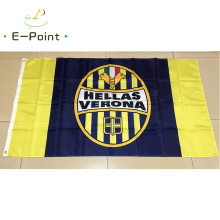 Italy Hellas Verona FC 3ft*5ft (90*150cm) Size Christmas Decorations for Home Flag Banner Type A Gifts