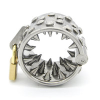 locks Stainless Steel Chastity lock balls