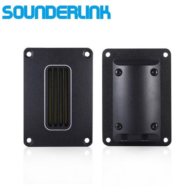 Sounderlink 2 pièces/lot 94dB 15 30W puissance HiFi défense haut parleur ruban tweeter pour bricolage moniteur système haut parleur