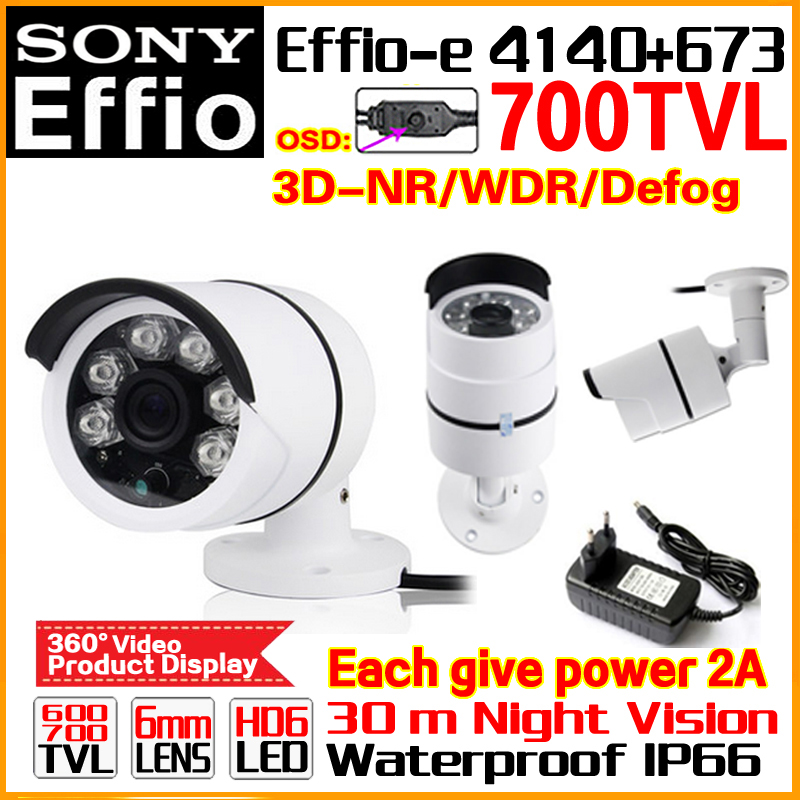 цены  New Style-Laser 1/3Sony CCD Effio Sensor Real 700TVL 960H Analog HD Color Cctv Camera OSD Outdoor Waterproof IP66 IR Infrared 35