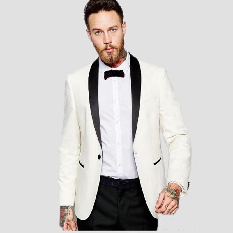 Aliexpress.com Acheter Costume Mariage Homme 2017 Style Marié Costumes  Smokings Sur Mesure Hommes De Mariage Occasion Formelle Costumes de tuxedo  men suit