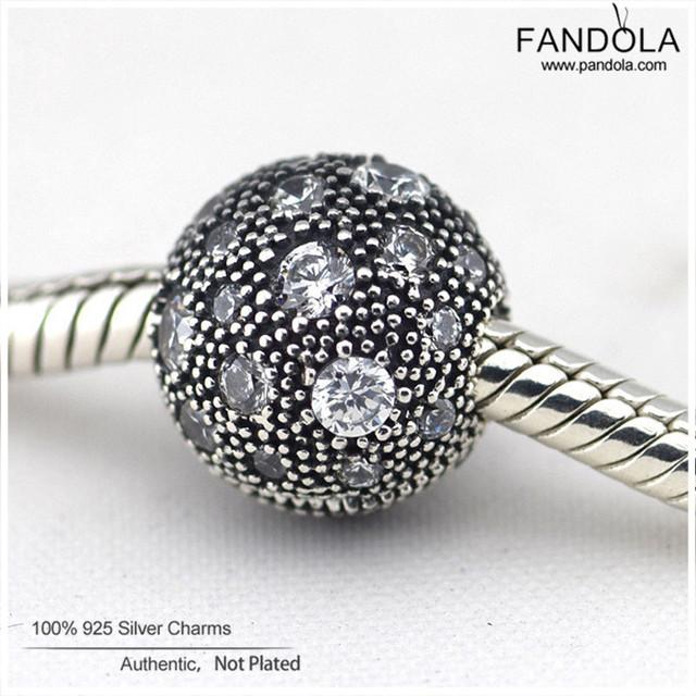Authentic 925 sterling silver claras cósmicos estrelas clipe stopper charme beads diy jóias fazendo serve pandora encantos pulseiras