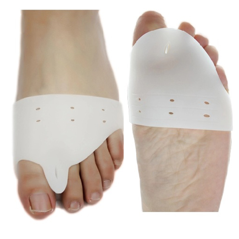 2PC Posture Braces Feet Care Silicone Gel Foot Toe Separator Bone Thumb Corrector Hallux Valgus Protector Bunion Adjuster
