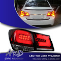 One-Stop Shopping Styling for Chevrolet Cruze Tail Lights Taiwan Sonar Cruze LED Tail Light Rear Lamp DRL+Brake+Park+Signal