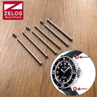 inner hexagon watch Screw tube bar ear rod link kit for blancpain BP Fifty Fathoms watch lugs connect watch band 5025 1530 52
