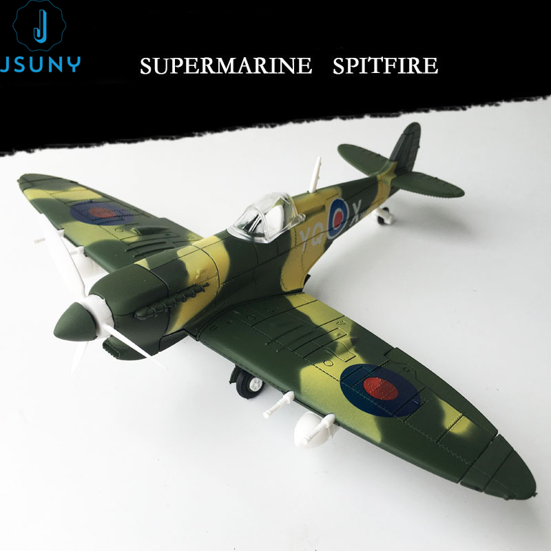 During World War II Used In Britain Supermarine Spitfire Aircraft,1:48 Military Assembly Building Blocks Model Bricks Army Toys