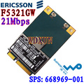 Hs2350 hspa + 3g umts wwan ericsson f5321gw a-gps minipcie modul neu h4x00aa 668969-001