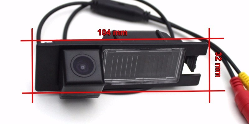 For Opel Corsa Meriva Tigra Vectra Zafira Astra Smart Tracks Chip Camera HD CCD Intelligent Dynamic Rear View Camera (4)