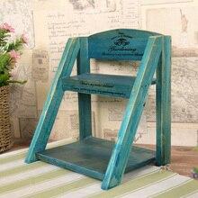 Estante de almacenamiento de madera Vintage, adornos para pared, artículos diversos, estante de almacenamiento, muebles para el hogar, Espacio de cocina colgantes, organizador, regalos de decoración