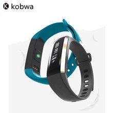 Kobwa Водонепроницаемый Смарт-Фитнес-Браслет Bluetooth Будильник Heart Rate Monitor Шагомер Спорт Фитнес-Трекер Для iOS Android