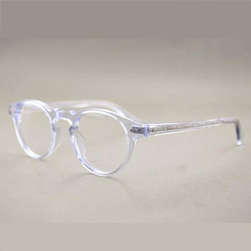 Vintage brillen ov5186 Gregory peck klaren rahmen gläser für frauen ...