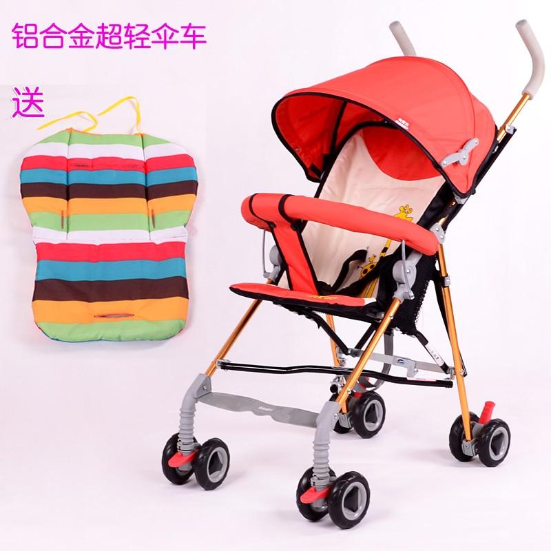 Q baby ultra-light car umbrella folding stroller aluminum alloy light child - Hangzhou DeLon trading Co.,Ltd store