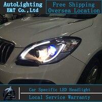 Car Styling LED Head Lamp For Opel Mokka Headlights 2013 2014 Mokka Led Headlight Led Drl