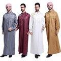 Abayas Islámicos ropa Musulmán árabe para los hombres thobe Árabe vestido de Indio hombres Túnica caftán de chambre Hombres XXL XXXL del tamaño Extra Grande Ropa