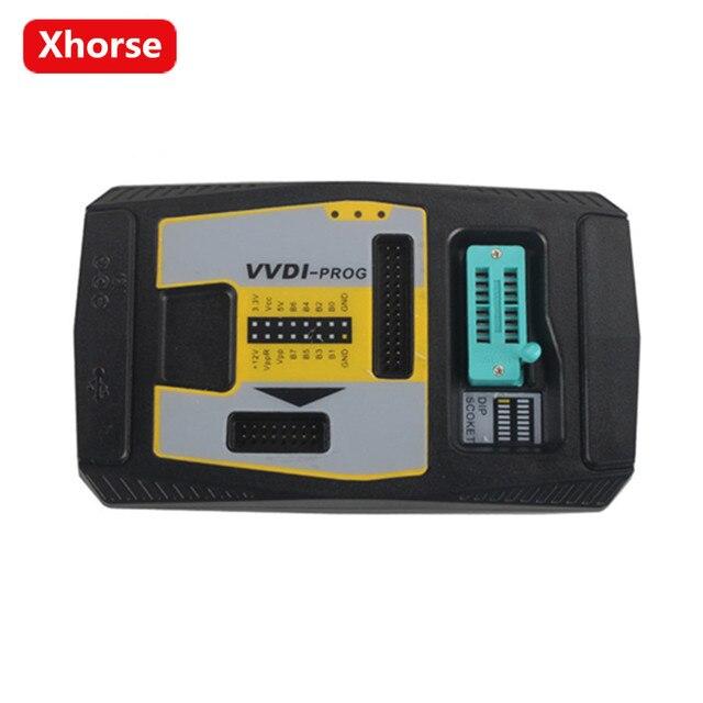 Original Xhorse V4.8.4 V4.8.4 Programador PROG PROG Programador VVDI VVDI Suporte Multi-idioma (Pode Escolher Adaptador PCF79XX)