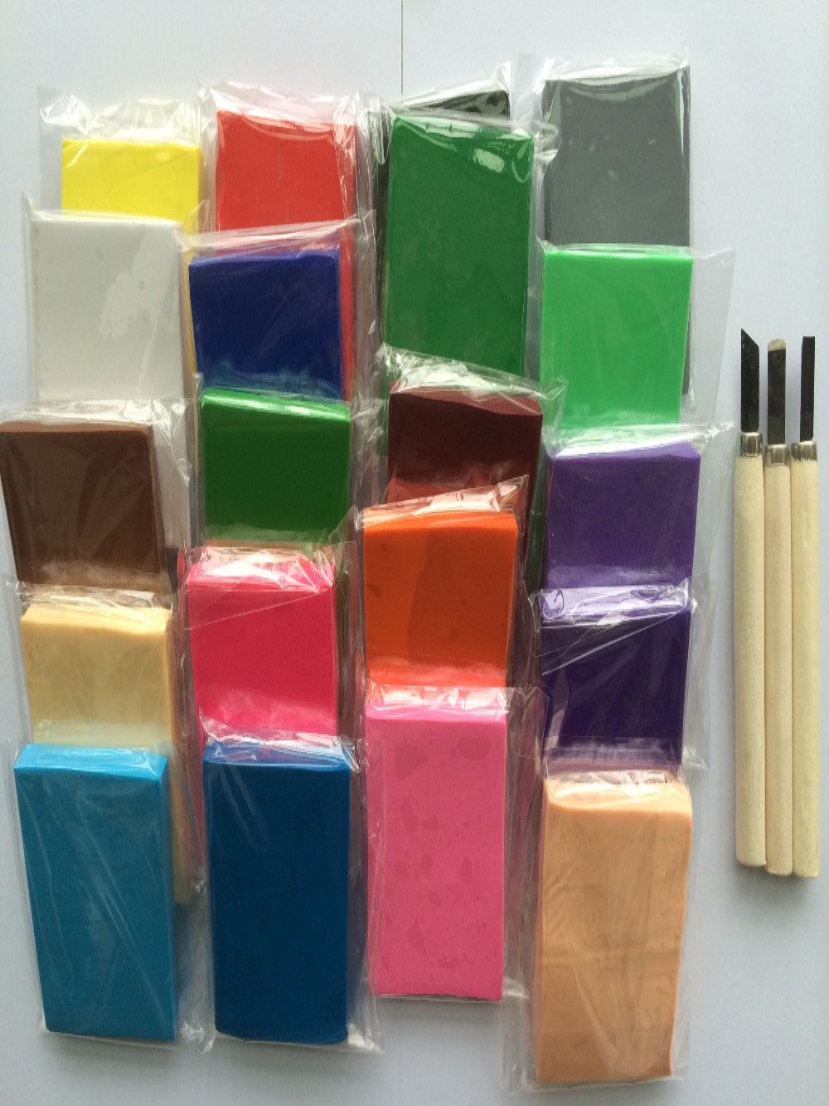 Set B 20PC / Lot + Cut Tool verschillende kleur. 80g verpakking - Leren en onderwijs