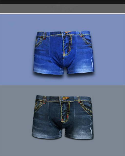 cotton underwear men sexy boxers