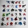 The Avengers Capitão América Wolverine Thor Spiderman Batman Figuras de Ação PVC Modelo Brinquedos aleatório mixed estilos mais