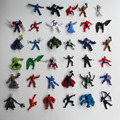 The Avengers Captain America Wolverine Thor Spiderman Batman PVC Action Model Figures Toys random mixed more styles