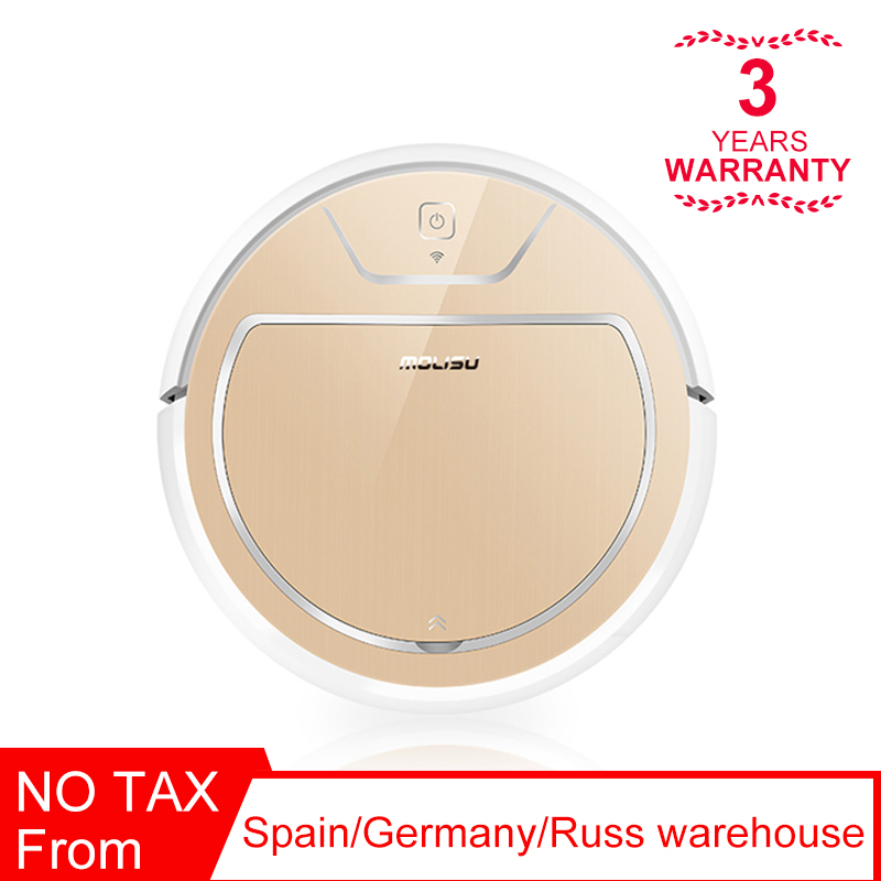 2019 NEW Robotic Vacuum cleaner Electronic water tank 2000Pa suctionIntelligent navigation APP control Dry and wet