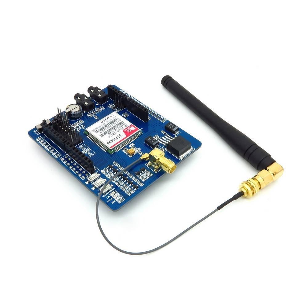 Bouclier de carte d'extension de Module de GSM/GPRS SIM900 avec l'antenne pour Arduino Mega