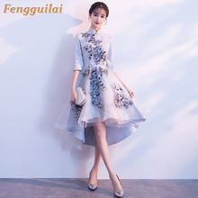 FENGGUILAI Elegant Full Sleeved O Neck Gold Sequined Party Dress Stretch Floor Length Bodycon Black Maxi