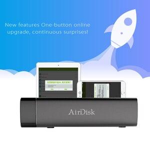 Image 4 - Disco Duro de red móvil Airdisk S3 USB3.0 familia de almacenamiento en la nube de red inteligente remotamente caja de disco duro móvil (no HDD)