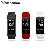 Mambaman новый оригинальный S2 Смарт часы SmartWatch сердечного ритма Мониторы уведомления GPS Спорт трекер удаленного Камера анти-потерянный смарт