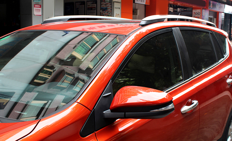 Aluminium Alloy OEM Type Roof Rack Side Rails Bars Luggage Carrier For TOYOTA RAV4 RAV 4 2013 2014 2015 2016 2017